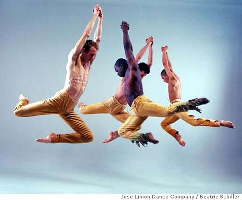 / for: Datebook slug: Limon26;  Jose Limon dance company performs Unsung and Jose Limon Dance Company performs Psalm Beatriz Schiller / HO Photo: Beatriz Schiller