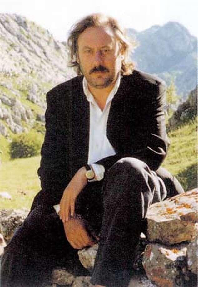"JULIO LLAMAZARES, AUTHOR OF ""THE YELLOW RAIN"""
