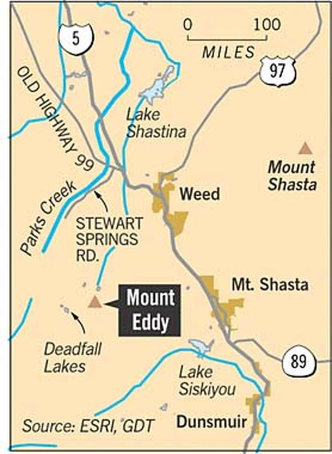 Mount Eddy. Chronicle Graphic