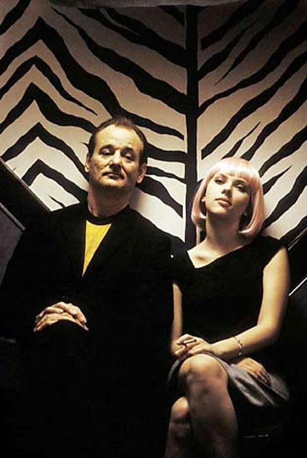 For LOST12, Datebook ; Bill Murray (left) and Scarlett Johansson (right) star in Sofia Coppola�s LOST IN TRANSLATION, a Focus Features release. Photo Credit: Yoshio Sato ; 2003 Focus Features. All Rights Reserved ; on 7/17/03 in . Yoshio Sato / Focus Features Photo: Yoshio Sato
