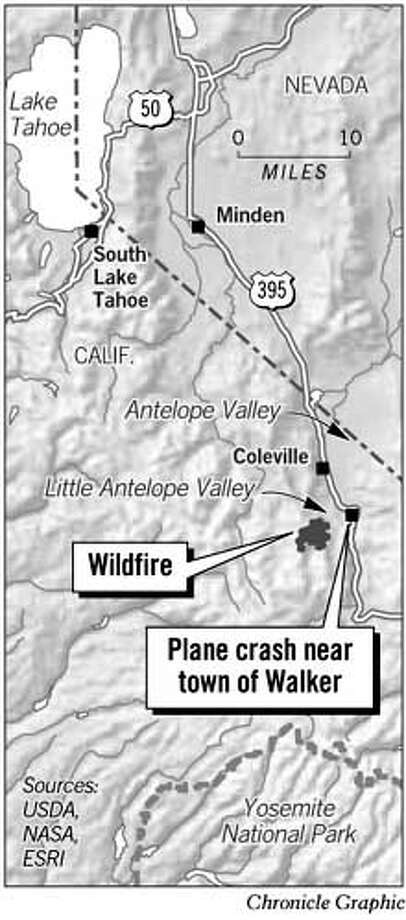 Plane Crash. Chronicle Graphic