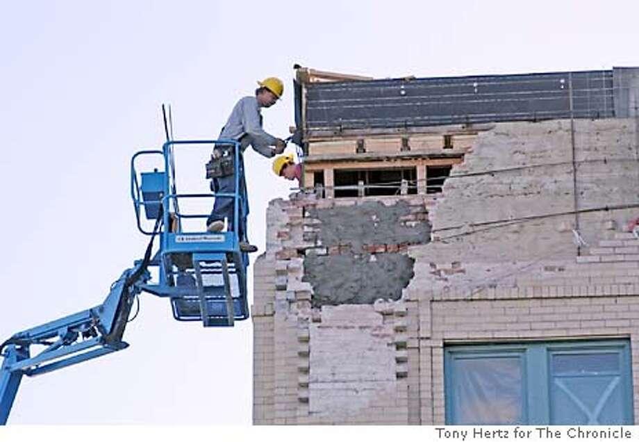 earthquake Tony Hertz  Ira Nowinski / Special To The Chronicle Photo: Tony Hertz Ira Nowinski