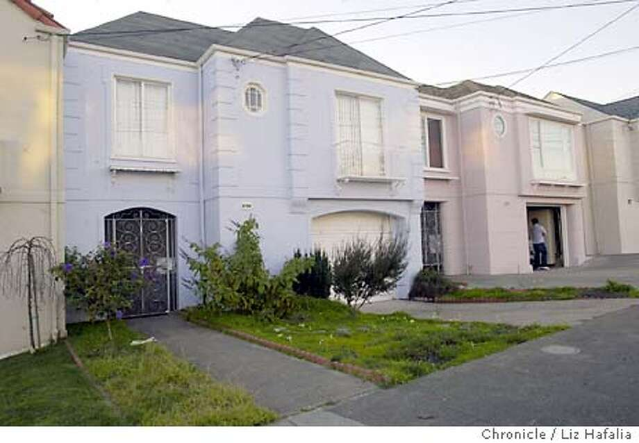 A prostitution ring, mainly working from the Sunset district, was busted today. One of the homes involved is 1671 33rd Ave.  LIZ HAFALIA/The Chronicle Shot {01/22/04} in {San Francisco} Photo: LIZ HAFALIA