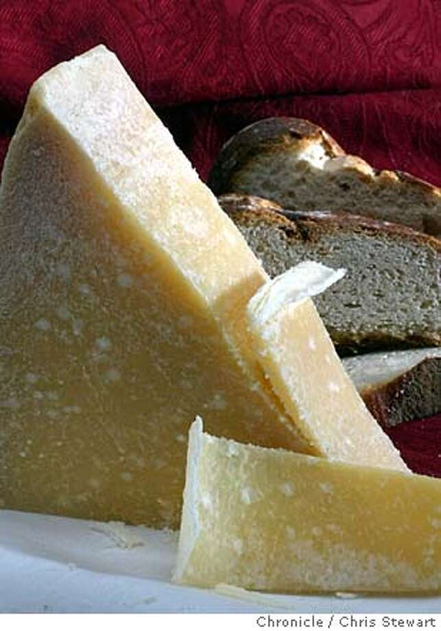 cheese22020_cs.jpg  Event on 12/30/03 in San Francisco. Parmigiano Reggiano cheese. Styling by Noel Advincula. Chris Stewart / The Chronicle ProductName	Chronicle Photo: Chris Stewart