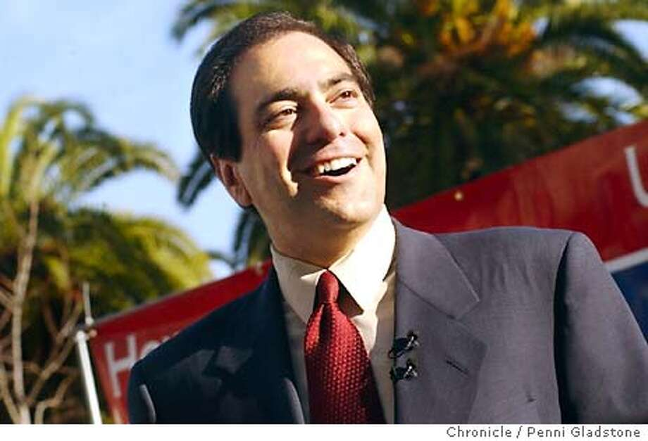 SENATE041_PG.jpg  Republican Howard Kaloogian announces he's runniing for the GOP Senate nomintion  PENNI GLADSTONE/ The Chronicle Photo: PENNI GLADSTONE