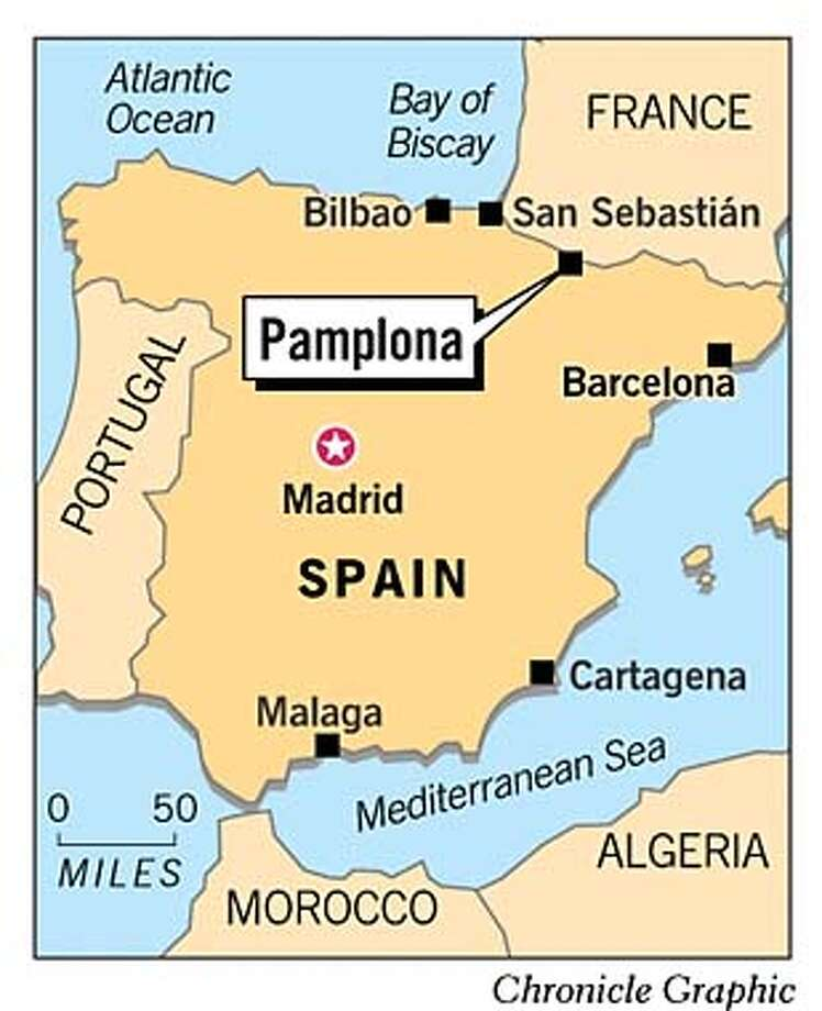 Pamplona. Chronicle Graphic