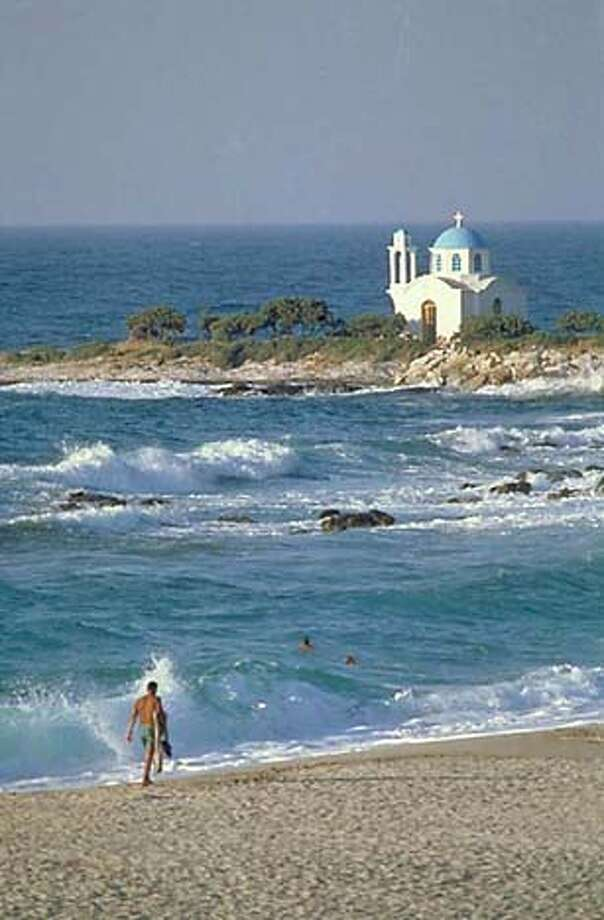 TRAVEL GREEK ISLES -- The island of Ikaria is the birthplace of Dionysys, the original party animal. Credit: Greek National Tourism Office