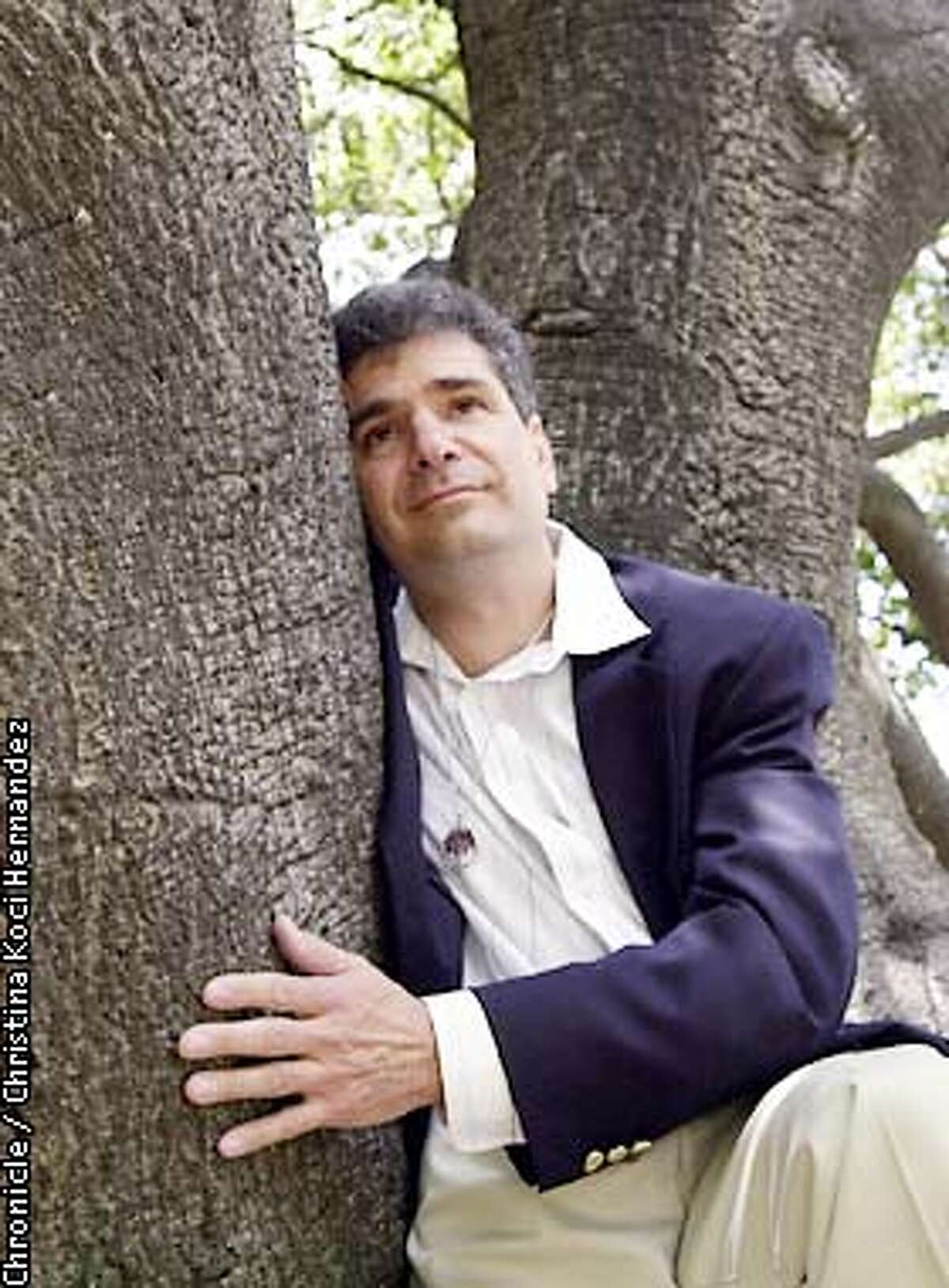 CHRISTINA KOCI HERNANDEZ/CHRONICLE David Cherney and the Earth First plaintifs were awarded $4.4 in a lawsuit against the Oakland police and FBI.
