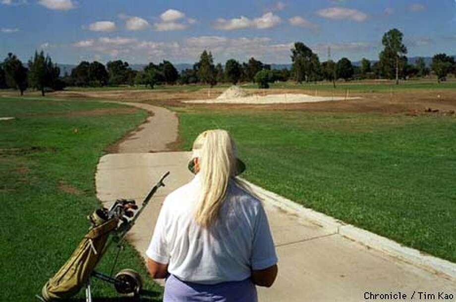 =The PA Muni Golf course is undergoing major reconstruction. The course, one of the very few public course in the area, was build on marsh land and experience drainage and mineral deposit problems. photo by Tim kao/the chronicle Photo: TIM KAO