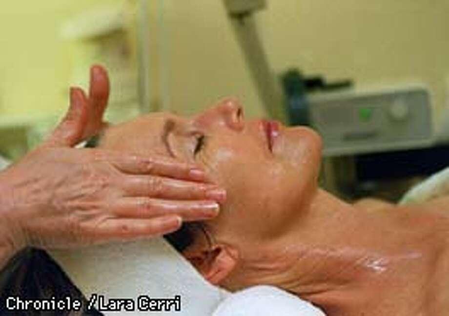 Vicki Saputo at the Miracullum Skin Care and Day Spa.