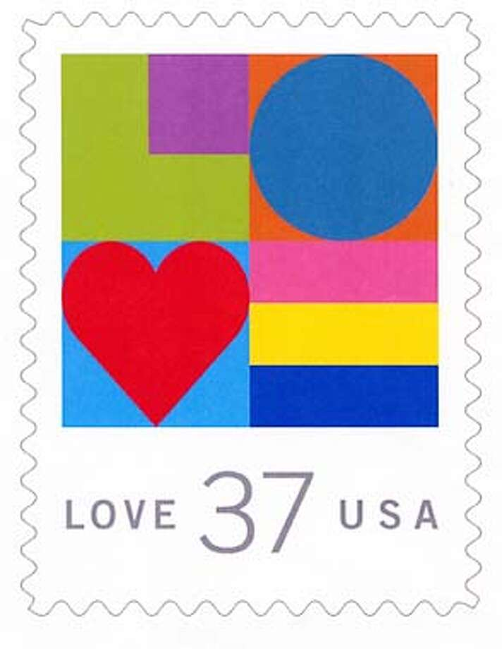 LOVE STAMP Photo: HANDOUT