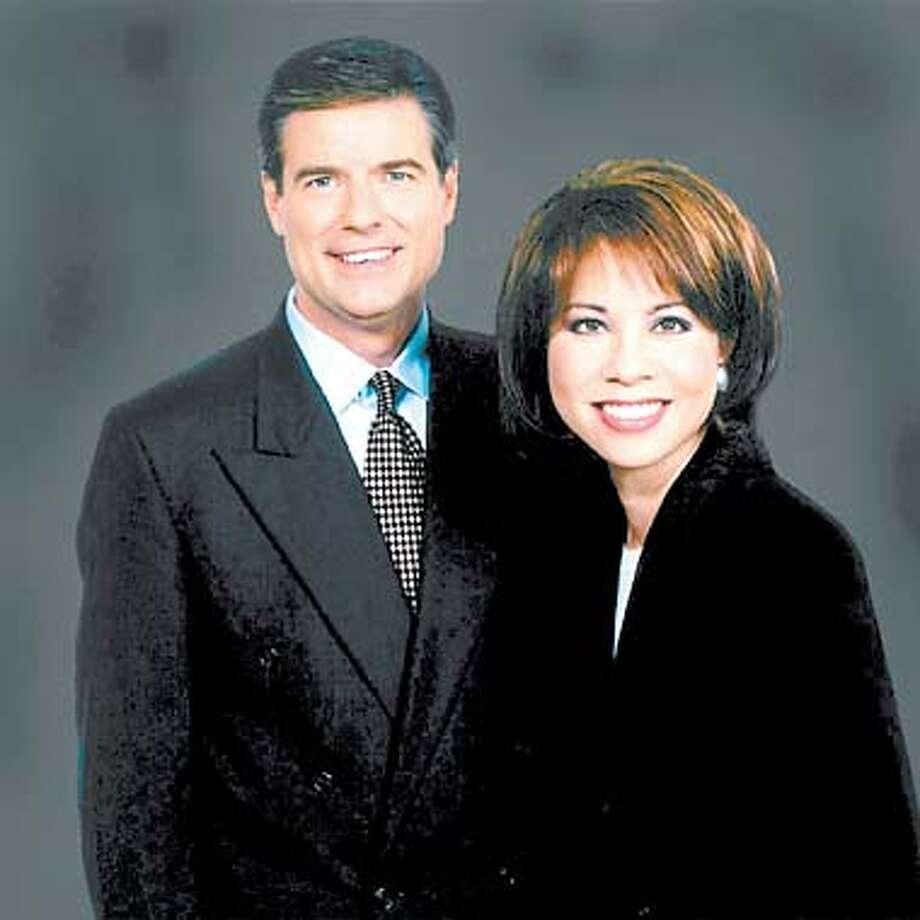 KNTV news anchors Terilyn Joe and Allen Denton  (HANDOUT PHOTO) Photo: HANDOUT