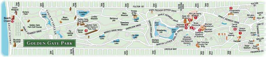 Chronicle Graphic: Golden Gate park events locator