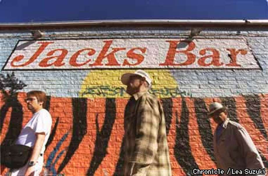 Jack's is an old time blues bar, that has been sold. New silent partner is John Lee Hooker. New name of bar will be John Lee Hooker's Boom Boom Room. John Lee will even have his own booth. Photo By Lea Suzuki Photo: LEA SUZUKI