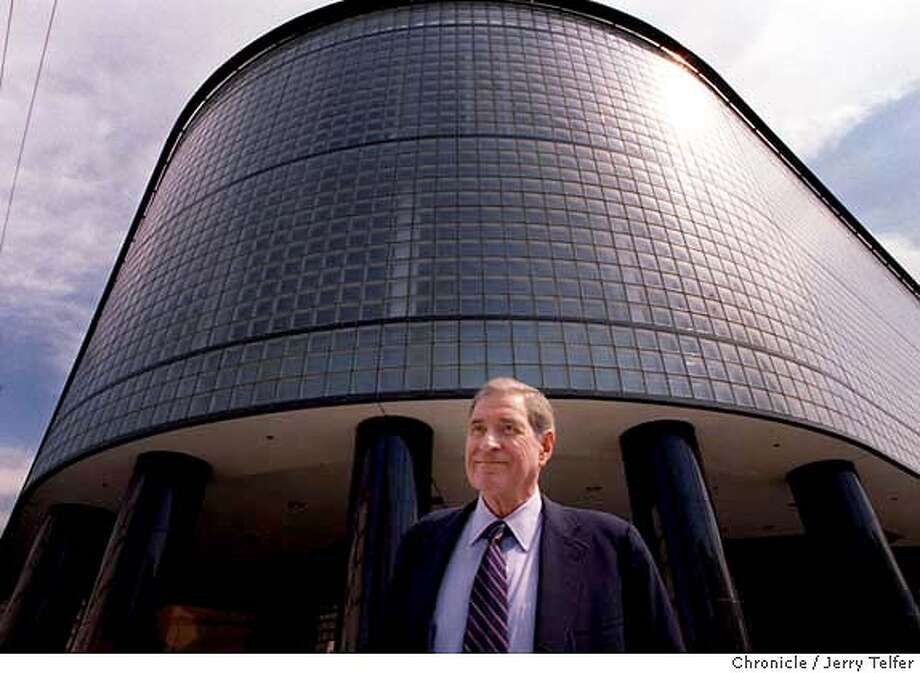 DOLBY_1/C/23SEP98/BU/JLT Dolby Labs founder Ray Dolby in front of the former SF Diamond Exchange building at 9th & Brannan Streets. Expanding from its Potrero Avenue headquarters, Dolby Labs is the new occupant of the site. 999 Brannan Street BY JERRY TELFER/THE CHRONICLE .. ALSO RAN 12/5/2003 Photo: JERRY TELFER