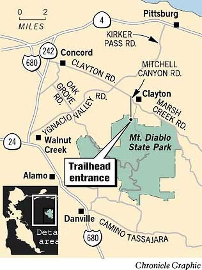 Mt. Diablo. Chronicle Graphic Photo: John Blanchard