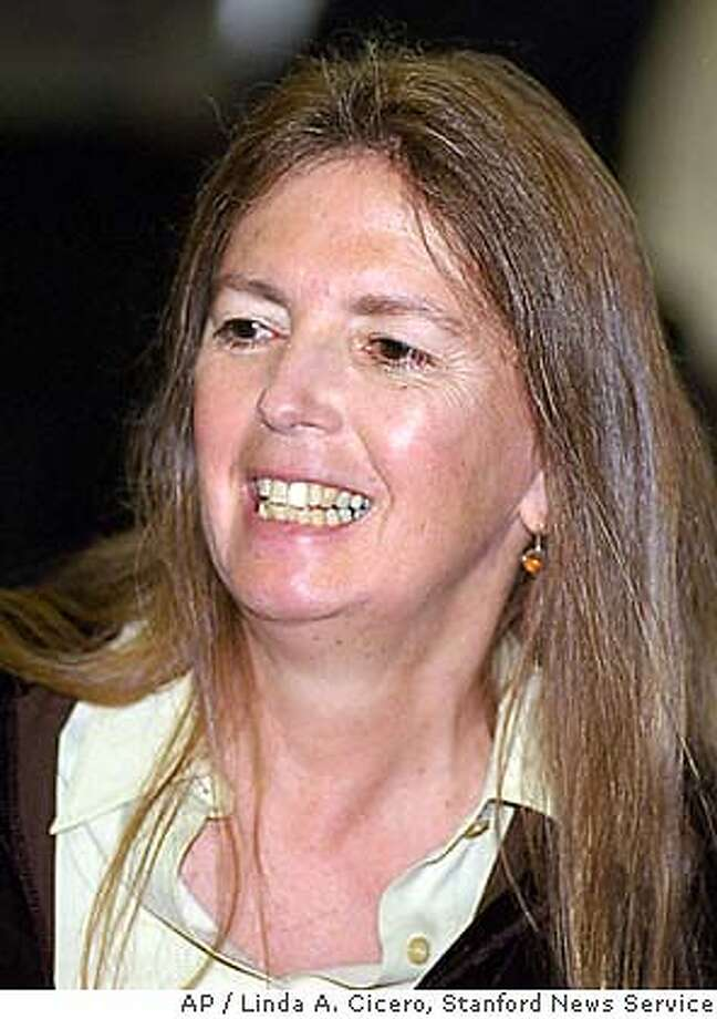 Undated submitted photo of Stanford University professor Susan Okin. Okin, a feminist political theorist whose work focused on the exclusion of women from western political thought, died at her home in Lincoln, Mass. She was 57. The March 3 death appeared to have been the result of natural causes, said Lincoln police Lt. Kevin Kennedy. Okin, a Stanford University professor since 1990, held a visiting professorship at Harvard University's Radcliffe Institute for Advanced Study at the time of her death.(AP Photo/Linda A. Cicero/Stanford News Service) UNDATED HANDOUT PHOTO Photo: LINDA CICERO