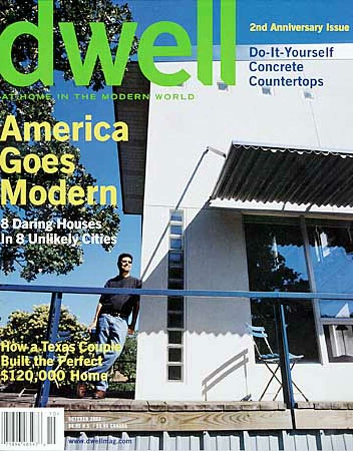 Dwell magazine, published in San Francisco, throws the spotlight on designers and homeowners. Photo: HO