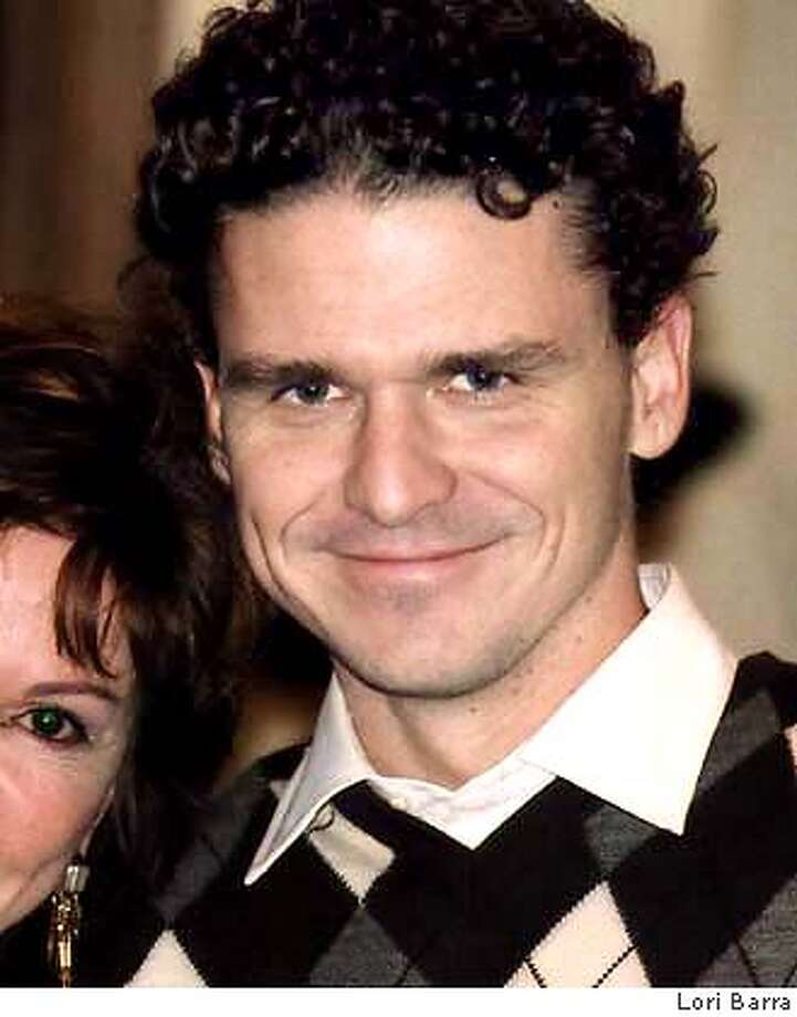 For , datebook ; Isabel and Dave Eggers from 826 Valencia Photo credit: Lori Barra ; on 9/30/03 in . Lori Barra / HO Photo: Lori Barra