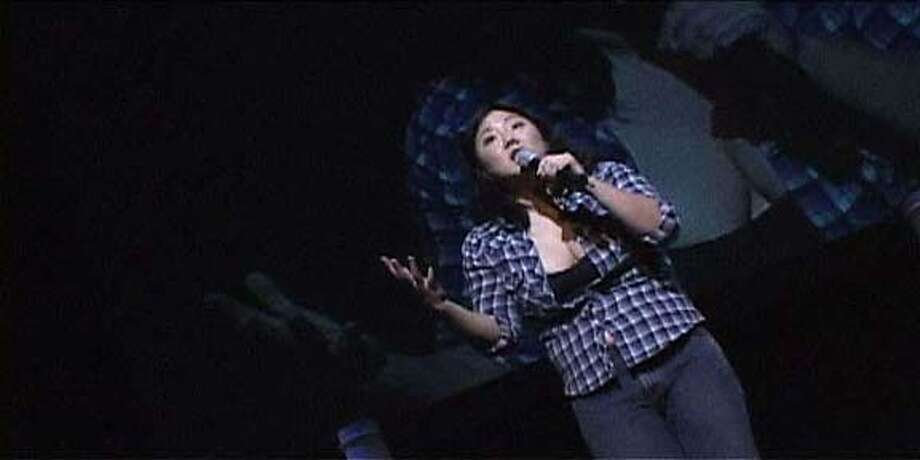 """Margaret Cho, who was raised in San Francisco, performs her comedy in the film """"Notorious C.H.O.''"""