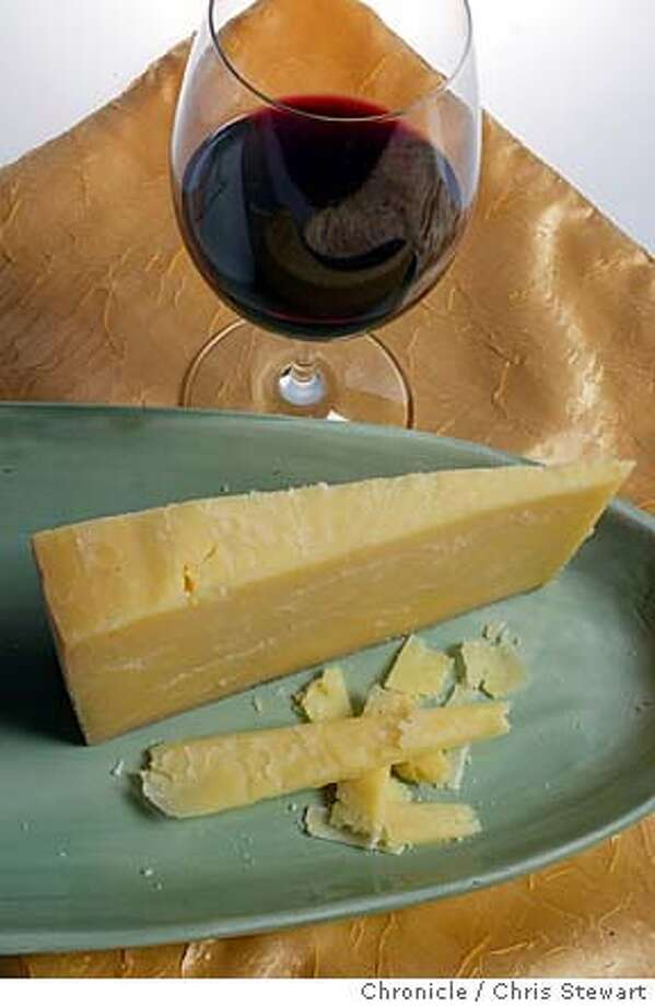 cheese15010_cs.jpg  Event on 12/30/03 in San Francisco. Harvest Moon (Montgomery cheddar?) cheese. Styling by Noel Advincula. Chris Stewart / The Chronicle Photo: Chris Stewart