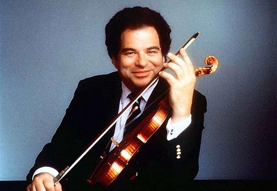 SYMPHONY02-C-31JAN01-DD-HO--  Violinist Itzhak Perlman
