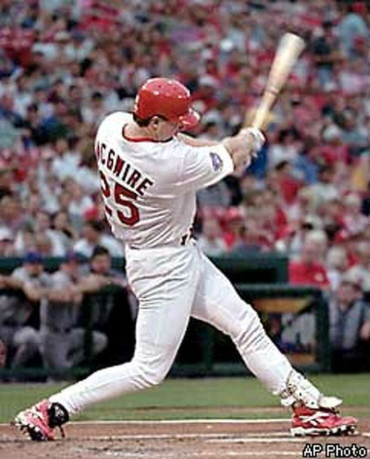 Mark McGwire, as a Cardinal.