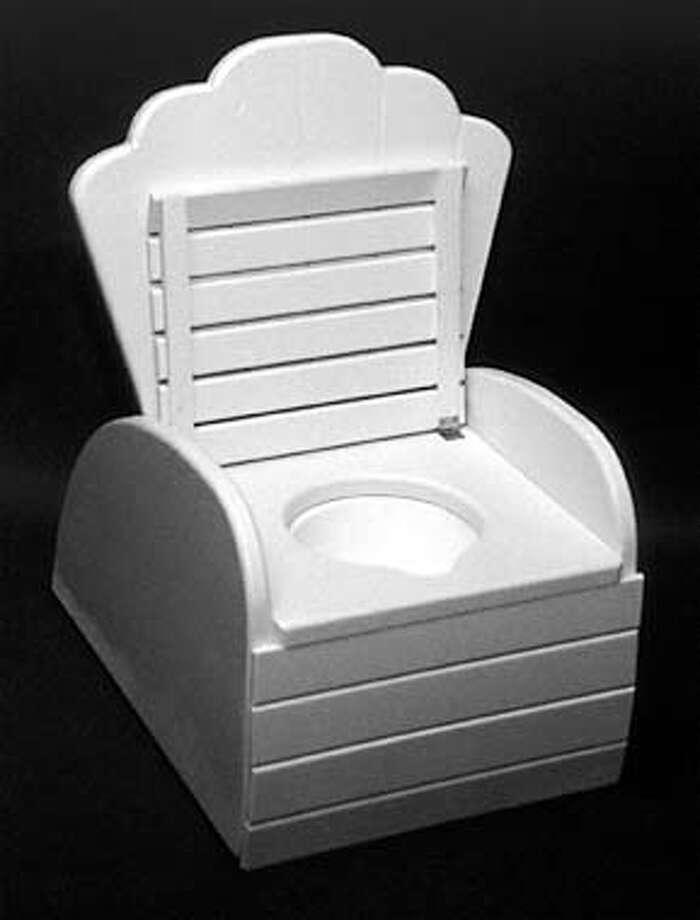 JUNIOR THRONE potty chair Photo: HANDOUT