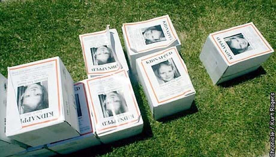 SMARTG-C-07JUN02-MT-KR  Boxes of flyers were dropped off on the side of the road in the Federal Heights area of salt Lake city .Photo By Kurt Rogers Photo: Kurt Rogers