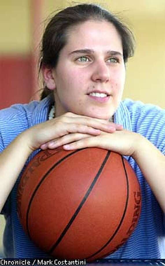 KARI GALLUP HUXFORD, A WOMAN WHO HAS BEEN NAMED BOYS VARSITY BASKETBALL COACH FOR ARAGON HIGH SCHOOL IN SAN MATEO. PHOTO: MARK COSTANTINI/S.F. CHRONICLE Photo: MARK COSTANTINI