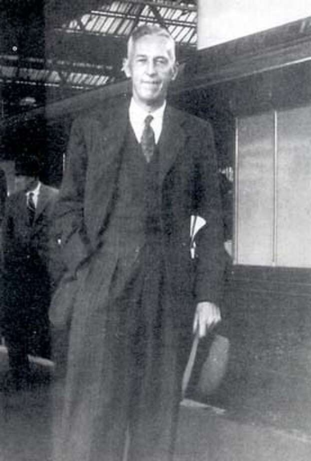 Bill Wilson as a stockbroker, no date given.