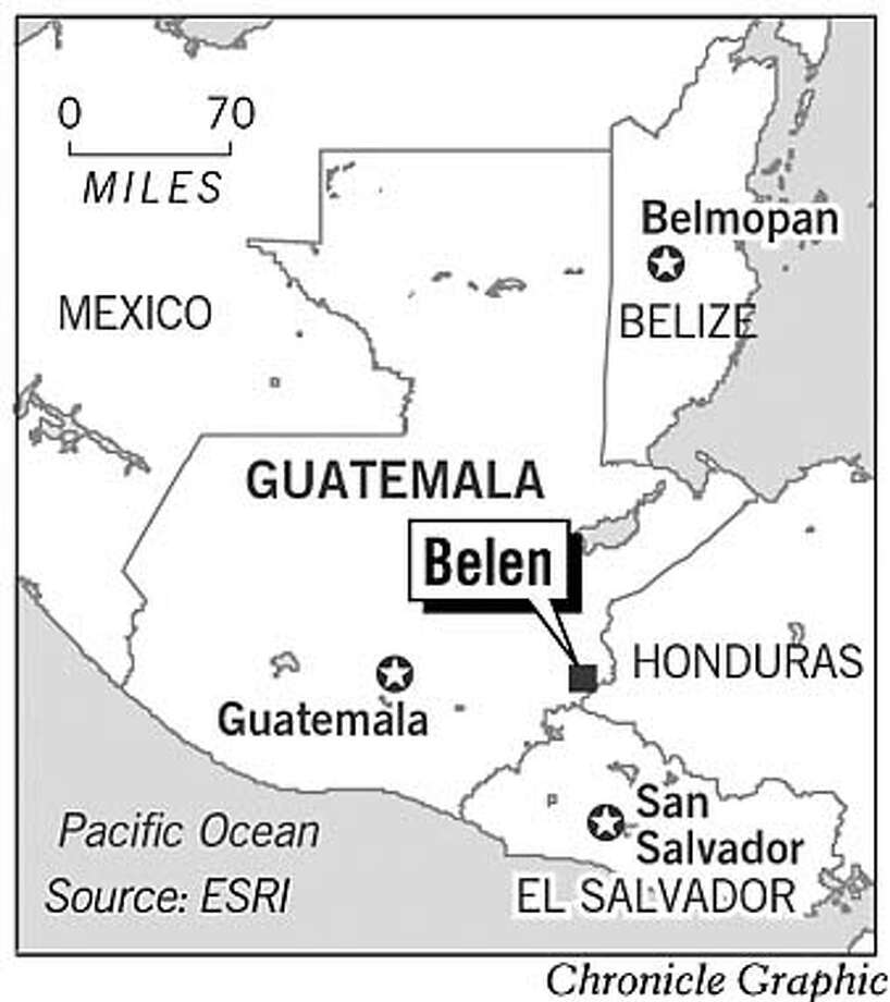 Belen, Guatemala. Chronicle Graphic