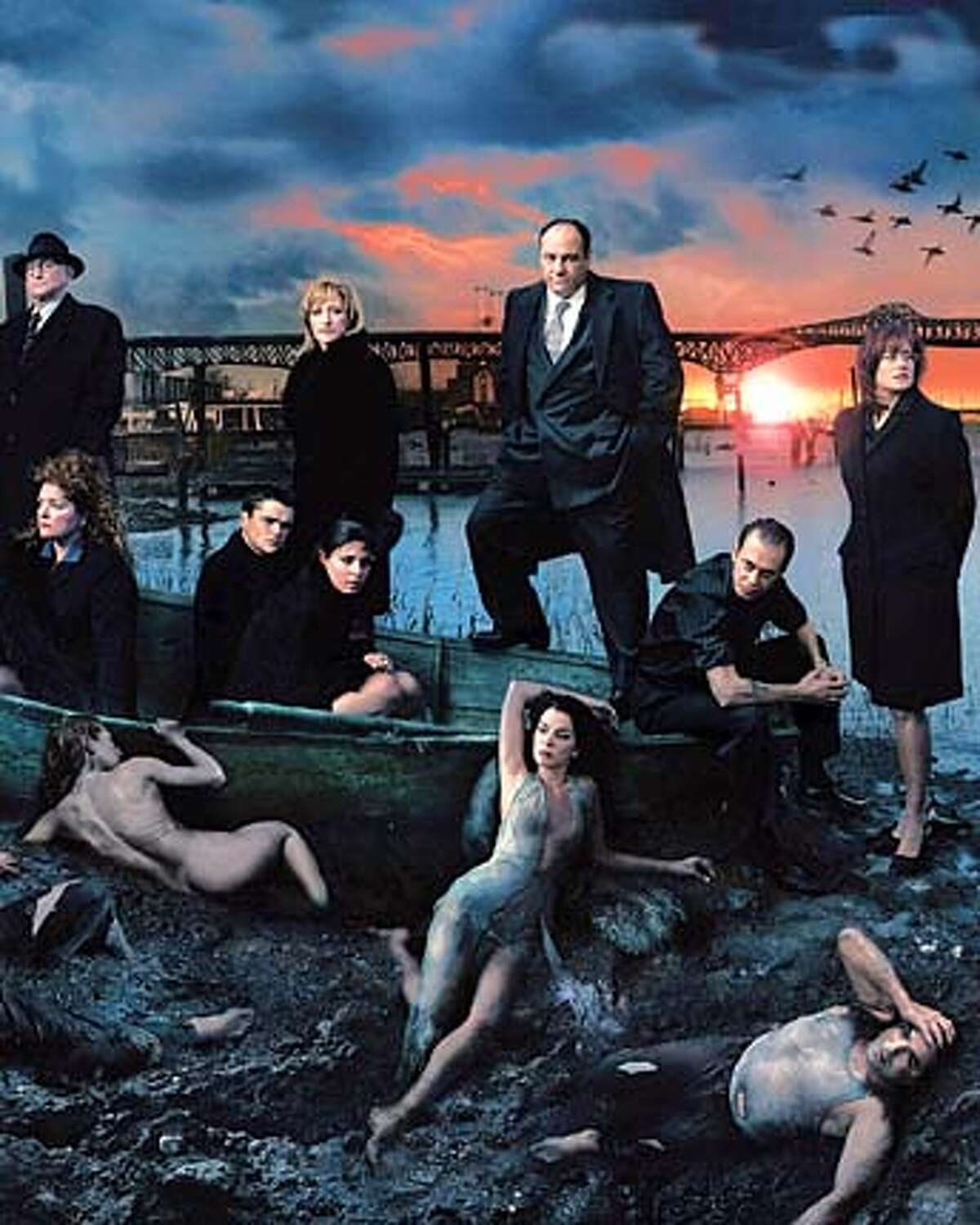 A whole new cast of mobsters greets Tony, Carmela and the rest of �The Sopranos� when the hit HBO series returns for its fifth season on Sunday.