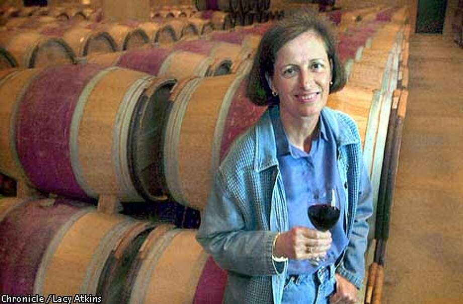 Genevieve Janssens is director of winemaking for the Robert Mondavi Wineary, in St. Helena.  SAN FRANCISCO CHRONICLE/LACY ATKINS Photo: LACY ATKINS