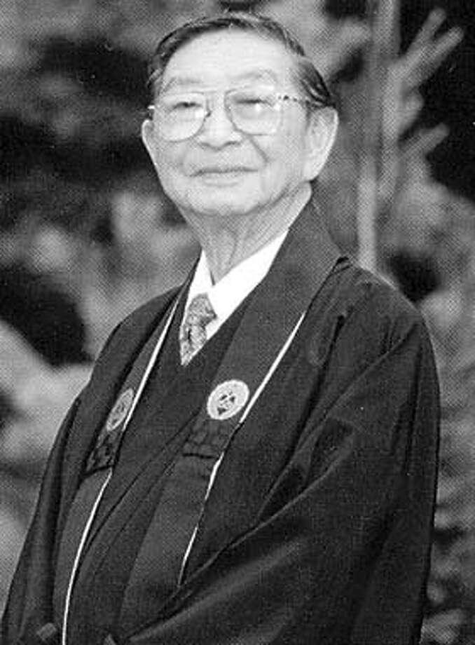 The Rev. Kenryu Takashi Tsuji was interned in British Columbia during World War II.