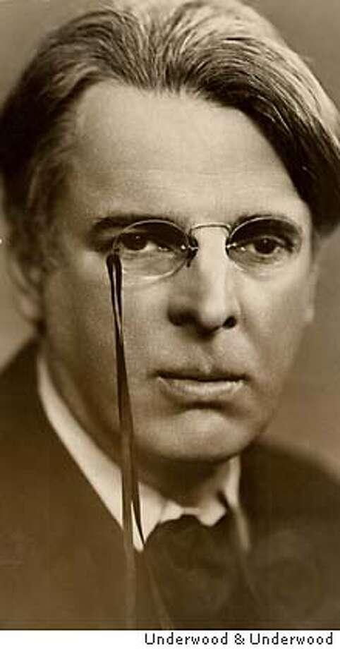 YEATS1-C-26NOV99-CF-HO--William Butler Yeats. MUST CREDIT: UNDERWOOD & UNDERWOOD, NY.  Underwood & Underwood