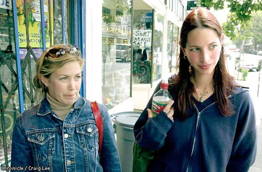 Story about a possible law that might be passed raising the smoking age to 21. Photo of Jodi Zipkoff (right), 26, and Vanessa Coe, 27, also occasional smokers.  Photo by Craig Lee/San Francisco Chronicle Photo: CRAIG LEE