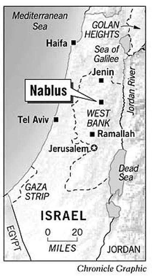 Nablus. Chronicle Graphic