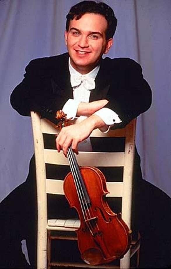 SYMPH09  Violinist Gil Shaham Photo: HO