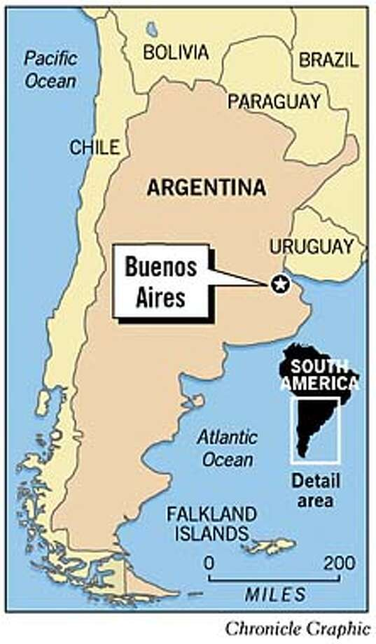 Buenos Aires, Argentina. Chronicle Graphic