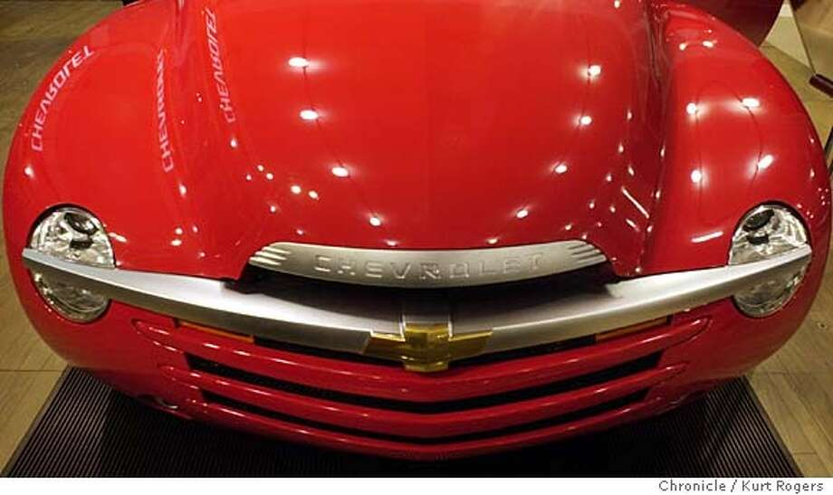 The front of the new Chevrolet SSR.  The opening day for the San jose International Auto Show at San Jose's McEnery Convention Ctr . Event on 1/7/04 in San Jose. KURT ROGERS / The Chronicle Photo: KURT ROGERS