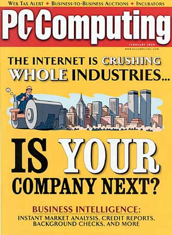 Cover of the February 2000 edition of PCComputing. Photo: HANDOUT