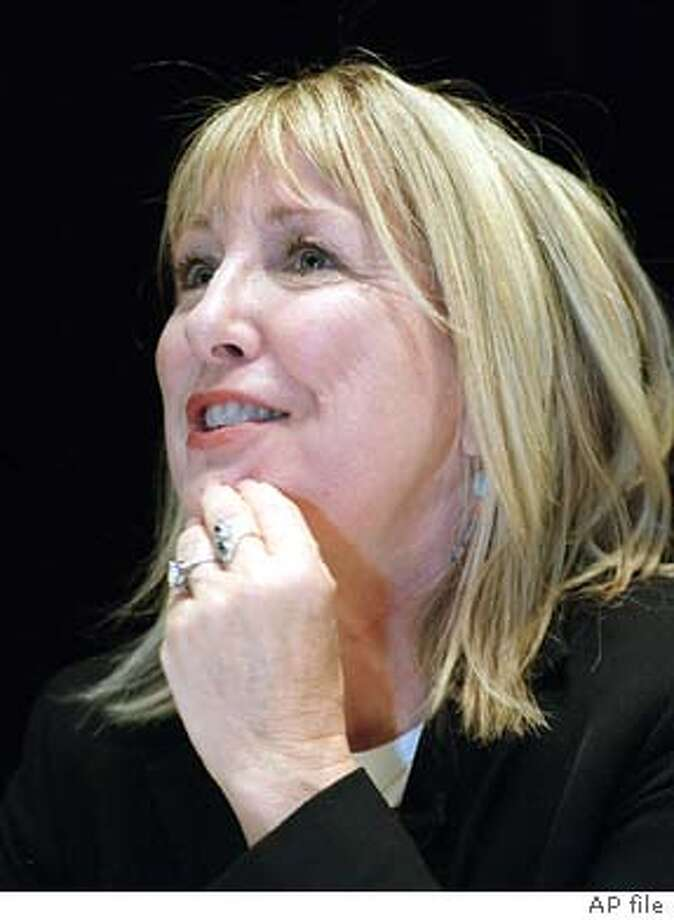 **CORRECTS DAY TO WEDNESDAY**Actress Teri Garr holds a news conference in New York, Wednesday, Oct 9, 2002 to announce that she has had multiple sclerosis for almost 20 years. (AP Photo/Joe Kohen) Photo: JOE KOHEN