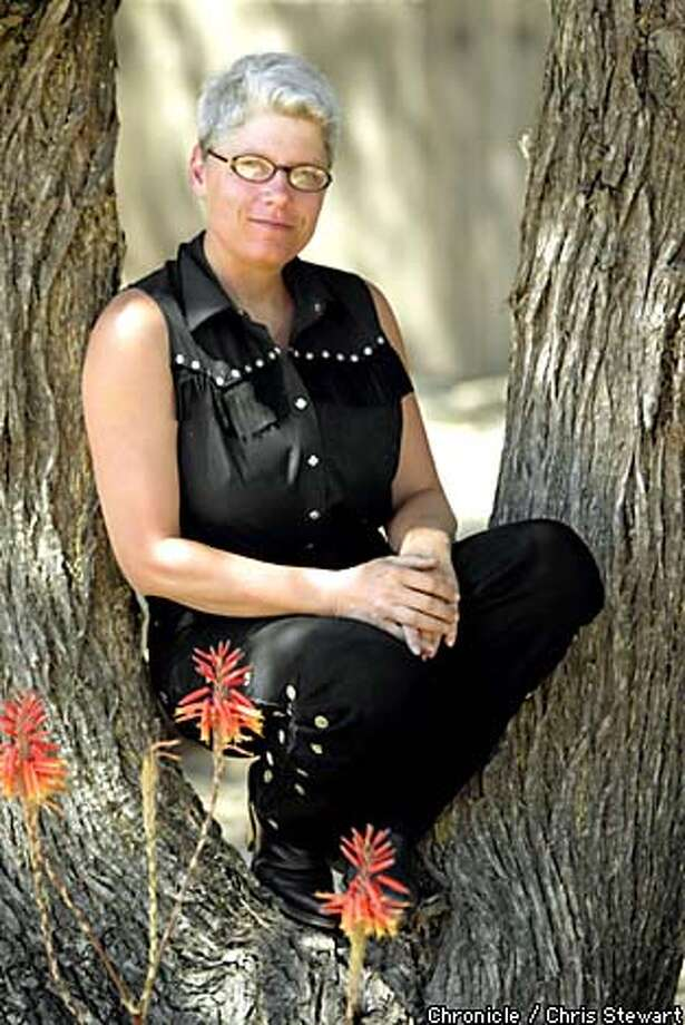 Beyond gender: Santa Rosa resident Cheryl Chase, 45, advocates for children born with ambiguous genitals through the Intersex Society of North America. Chronicle photo by Chris Stewart