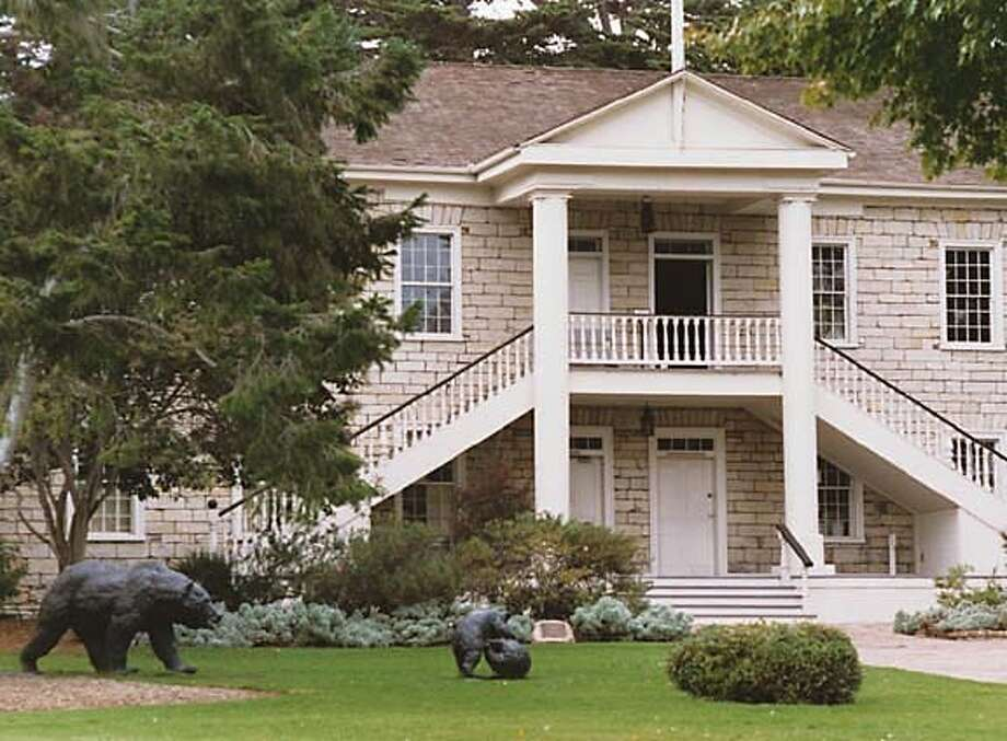 "TRAVEL-MONTEREY MONTEREY, CALIF. -- Colton Hall in Monterey is where California's first constitution was written, debated and ratified. It was also used in the movie ""A Summer Place.""  SPUD HILTON / THE CHRONICLE 2001 Photo: Spud Hilton"
