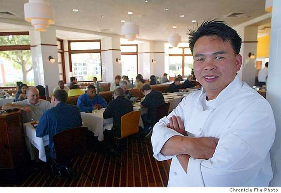 D30SLANTEDXXF-C-20JUN02-PK-JC-- Chef and co-owner Michael Phan at The Slanted Door at its new location at 100 Brannan Street in San Franciso on Thursday afternoon. Photo by Jeff Chiu/The Chronicle Photo: Jeff Chiu
