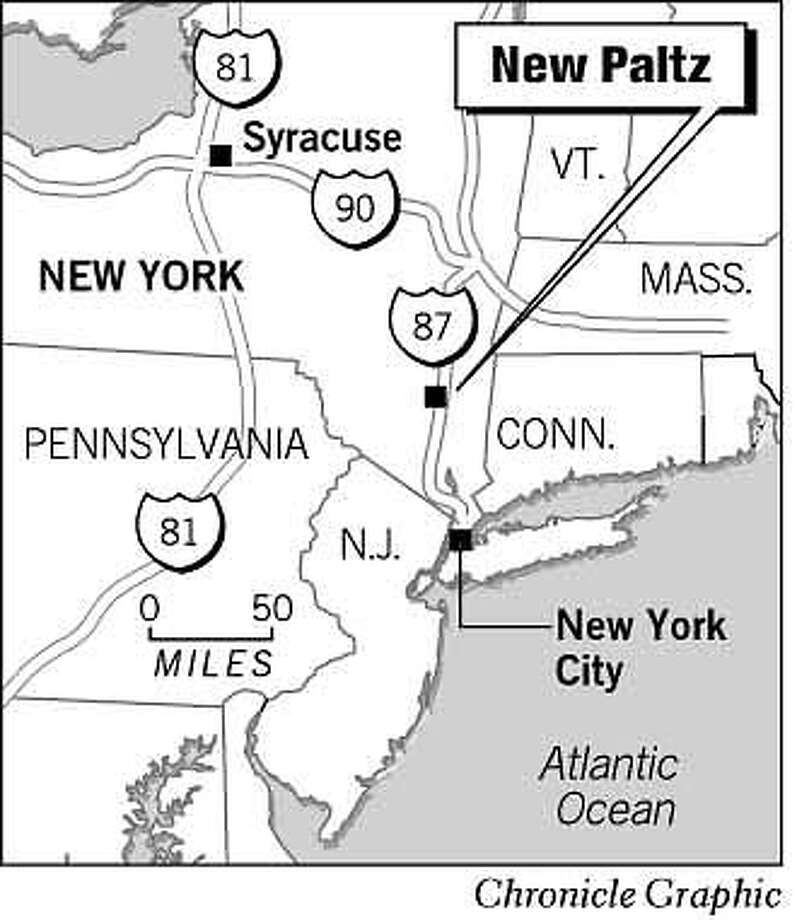 New Paltz, NY. Chronicle Graphic