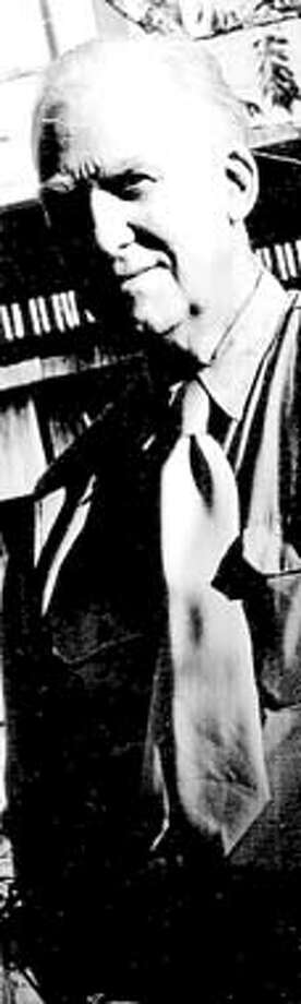 / for: Obit slug: obit;  Jess Collins (1923-2004) taken mid 90s. / HO