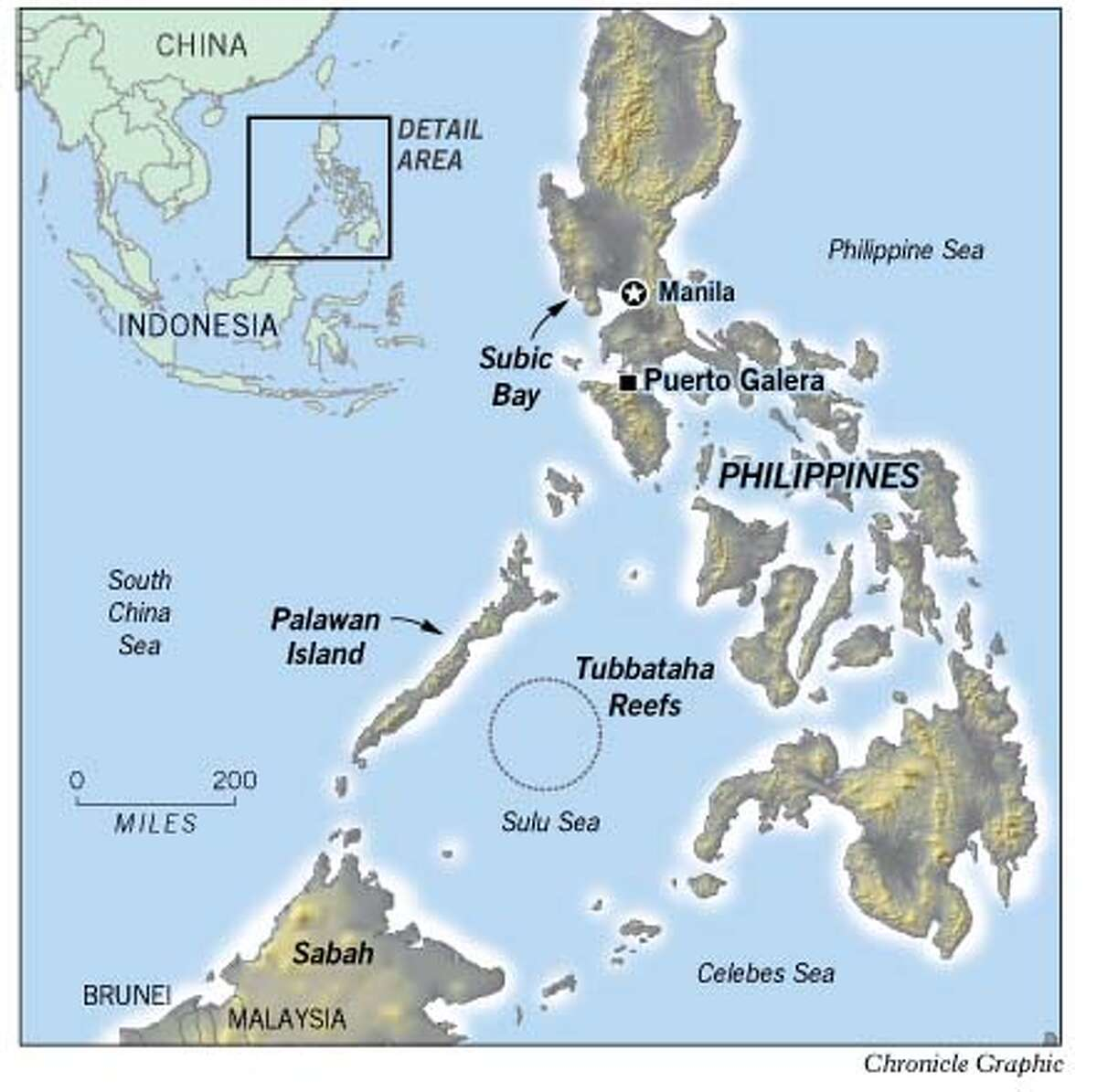 Philippines. Chronicle Graphic