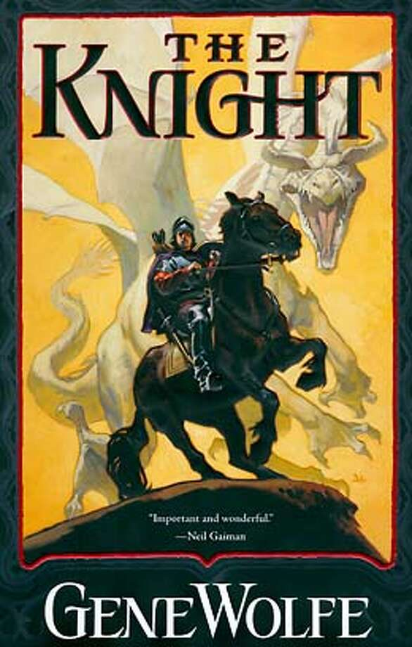 book cover from The Knight.
